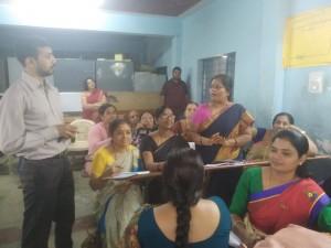 Teacher Enrichment Workshop in Govt School,Sunkenahalli-15/12/18